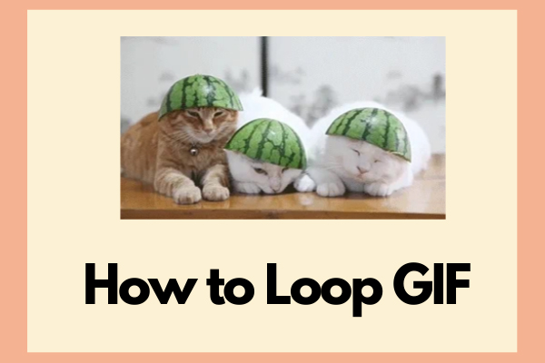 How To Loop Gif Continuously Or Stop Gif From Looping