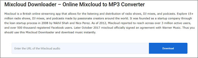 mixcloud downloader 2