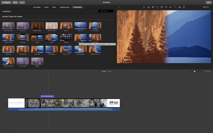 how to combine videos on Mac