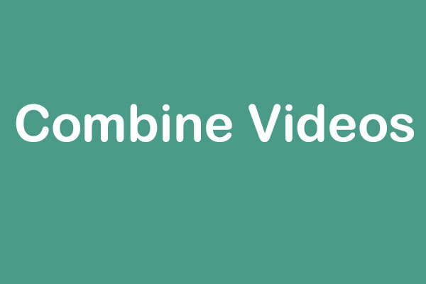 combine videos into one