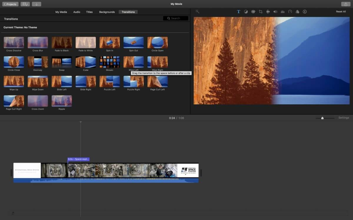 the main interface of MP4 video editor Mac