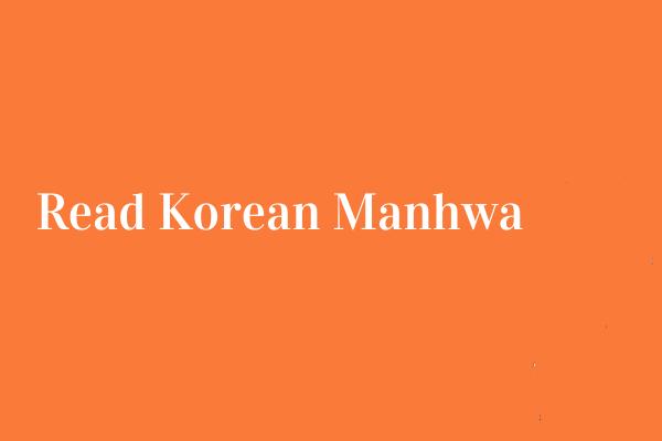 Manhwa read korean 10 Korean